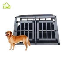 Aluminium dog cage,heavy duty folding aluminum dog cage kennel china cage wholesale