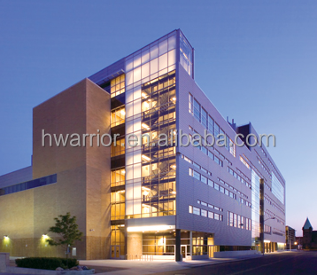 Hwarrior Wide Selection Low-E Glass Thermal Insulated Curtain Wall