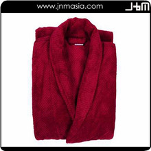Professional manufacture cheap red hood bathrobe