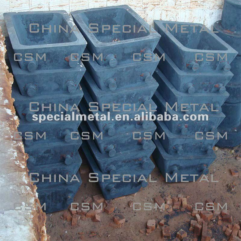 Lead casting mold