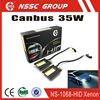NSSC Hot Sale 9006 Xenon bulbs 35W Canbus Xenon headlight hid kits