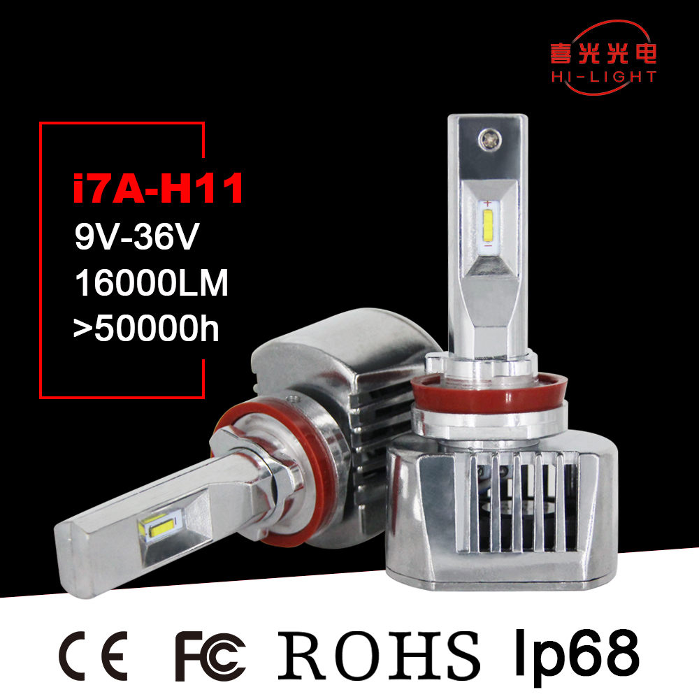 High quality c6 9600 lumen 36W H11 Skoda Rapid led headlight