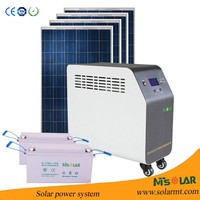 cheap portable solar generator 220v with easy installation / off-grid 2kw home solar panel system / 2KW solar panel system
