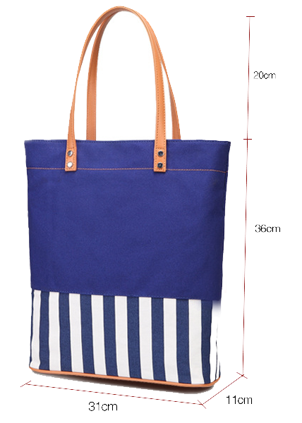 Heavy duty canvas tote bags canvas tote leather straps