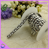 China Supplier Square Round Stud Made Decorative Metal Trim Craft
