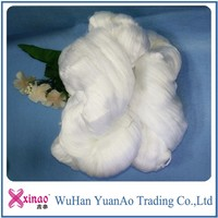 tfo 100% spun polyester hank yarn raw white thread for sewing,knitting