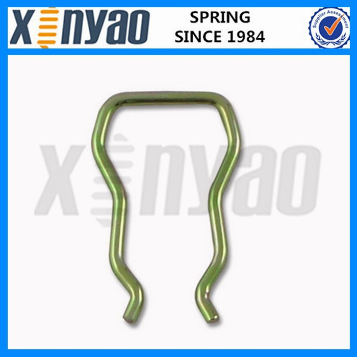 u shaped spring clip