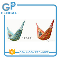 2017 summer hammock Wholesale portable canvas camping hammock