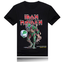 Iron maiden rock band t shirt for music fans