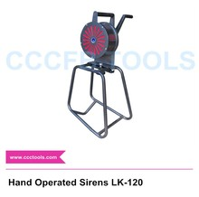 Hand Operated Sirens LK-120 type Hand Grand Fire alarms,Hand Crank,Manual Operated,Alarm