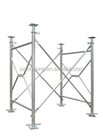 Different Size V Type Frame Scaffolding For Formwork Construction