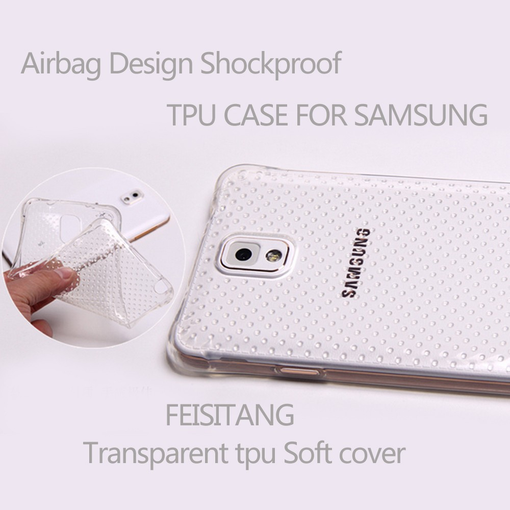 Airbag Design Shockproof case for samsung galaxy note 3 case Shockproof Soft TPU Cellphone case