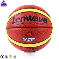 Standard size 6 factory price pu leather basketball wholesale