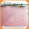 100% recyclable safety rubber flooring paver brick