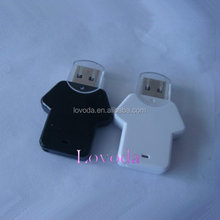 T-Shirt USB flash drive, NBA T-Shirt usb drive, customized 2D/ 3D shape USB flash disk bulk sale LFN-027