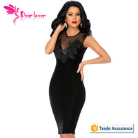 Women Black Sex One Piece Night Dress