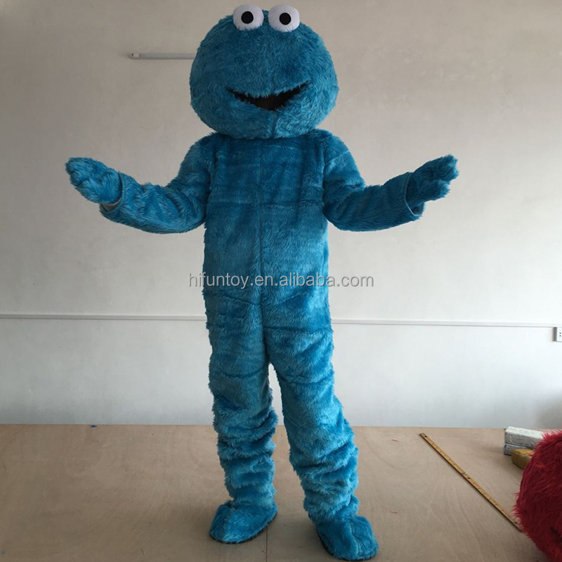 Funtoys CE adult cookie monster mascot costume