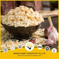 Dehydrated natural ingredients garlic flakes