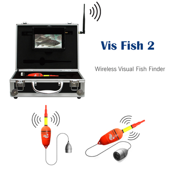 Underwater Wireless Visual Fish Finder Video Fishing Camera DVR System