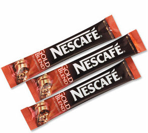 NESCAFE FILLING WRAP UP MACHINE