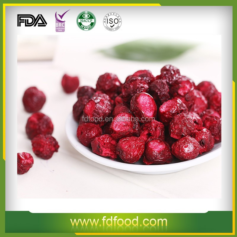 Best Selling FD Drying Process and Bulk Packaging Dried Sour Cherry