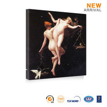 Wall Picture Sport Women Dancing Girls Nude Sex Oil Painting