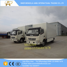 Discount DFAC 4x2 LHD RHD wing van mobile workshop truck