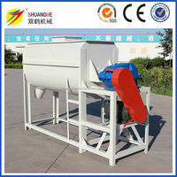Double Hellx Feed Stainless Steel Mill Mixer Cattle Feed Mixer Machine Corn Mixer From China