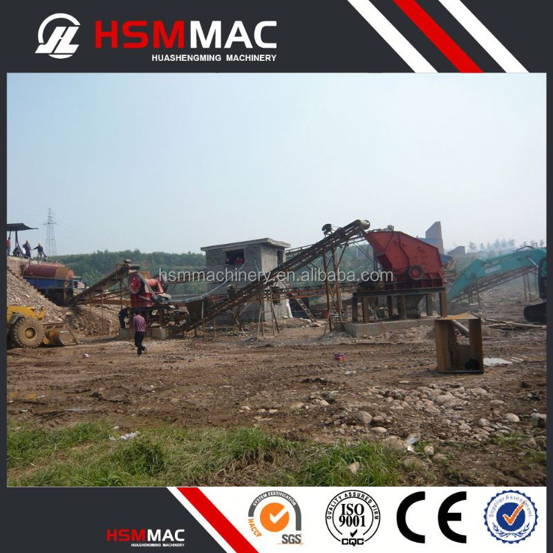 HSM Stone Processing Chromite Crushing Plant For Stone Crushing Line