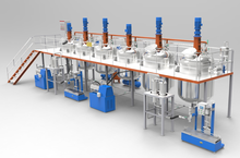 Automatic coating production line/paint making machine/complete paint manufacturing line