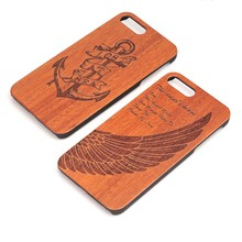 Best Selling Engraving Wood Mobile Phone Case,Wooden Shell For Iphone,Mobile Phone Accessories