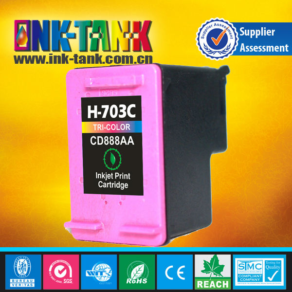china premium compatible ink cartridge for hp 703