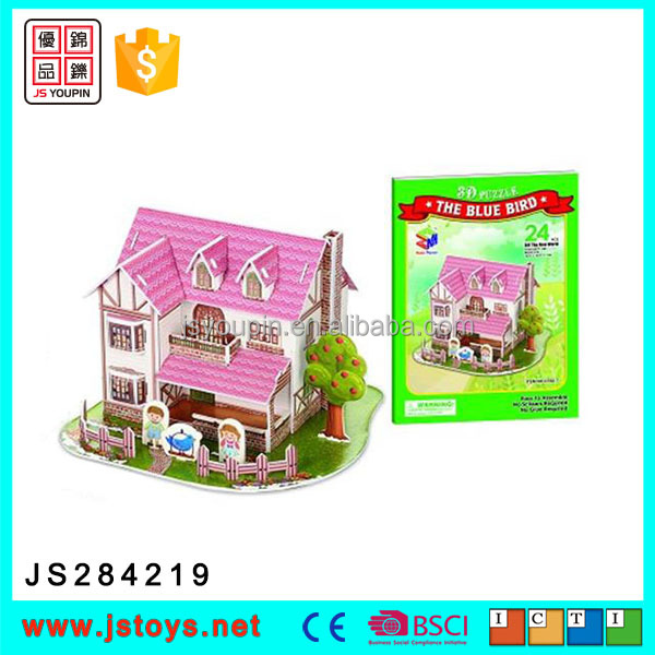2016 new products 3d puzzle diy toy on sale