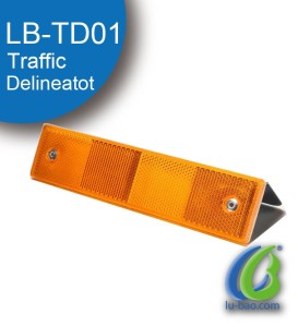 Popular Plastic Traffic Rectangle reflective delineator