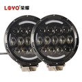 "Newest 105W 7 inch High Low Beam front bumper led work lamp Osram round atv off road 4x4 truck 7"" offroad led work light"