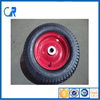 Rubber air wheel used for lawn mower and garden cart