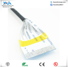 Coaxial Type ffc cable ul2651 28awg flat ribbon cable