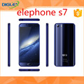 2017 mobile phone large stock elephone s7 made in China black /gold global version smartphone