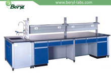 Beryl pharmaceutical lab furniture/medical clinic workbench/laboratory chemistry bench