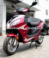 good quality popular 50cc 4 stroke EEC SONIK gas scooter