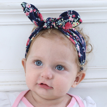 China Factory Knotted Wholesale Cotton Girls Baby Bow Headband Wholesale