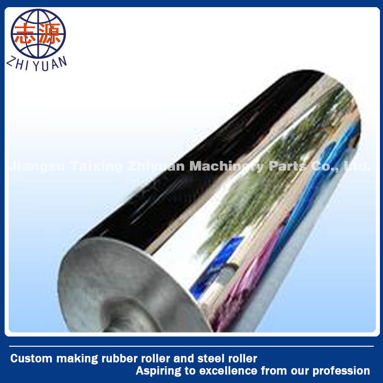 Durable Polishing Mirror Roller For Sheet Extrusion Line , Calender Rollers