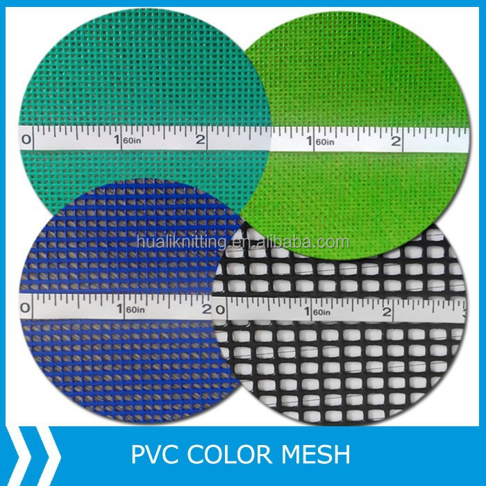 PVC Coated Mesh Fabric for Make-up Bag/fencing