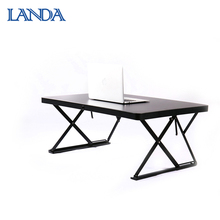 Foldable adjustable standing computer notebook desk