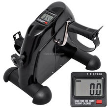 Mini Bike 50 Arm and Leg Trainer/Leg Pedal Exerciser with LCD Display Mini Exercise Bike Indoor Fitness Cycling Resistance