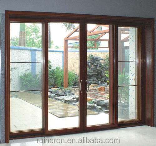 low price China factory large sliding glass door and aluminum sliding doors