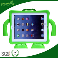 EVA Foam portable Stand Holder Cover case with arm Shockproof tablet pc Case For iPad