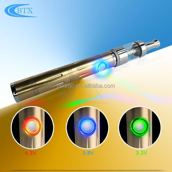 Glass Vape Tank adjustable voltage 900mah battery High quality ecig kit vape pen ecig