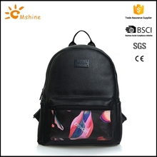 High quality waterproof material pu teenager bag