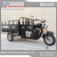 cargo tricycle with cabin/250cc motorcycle trike/3 wheel motorized bike